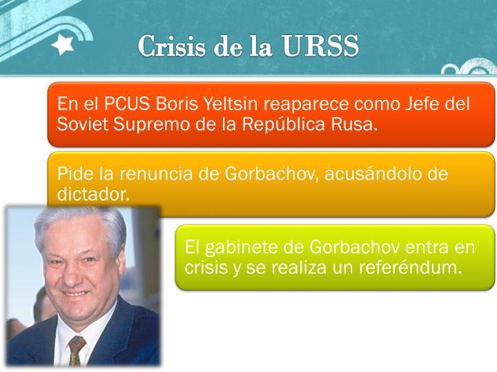 Crisis de la URSS