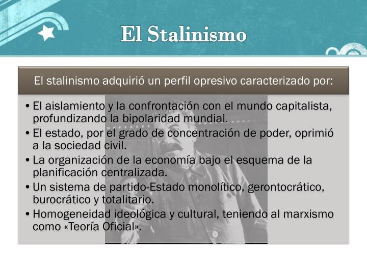 El Stalinismo