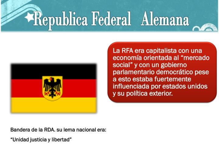 Republica Federal   Alemana