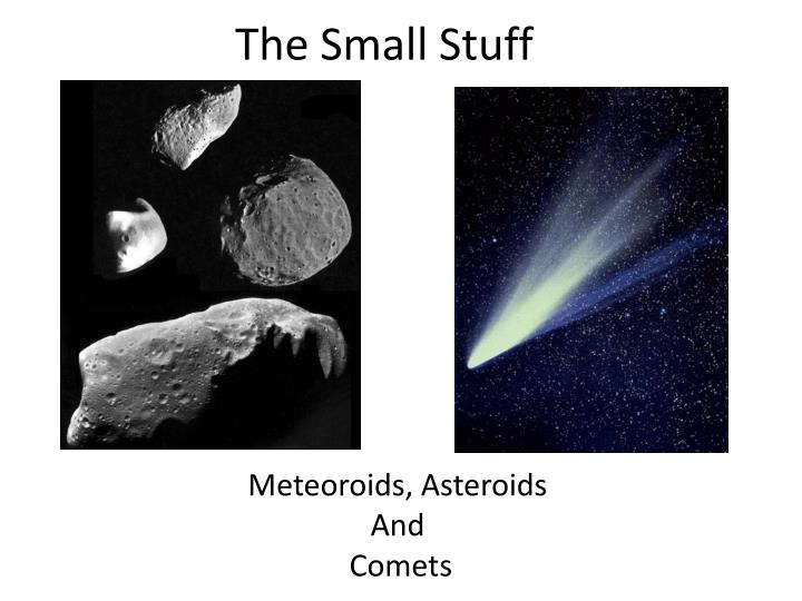compare and contrast asteroids and comets - 720×540