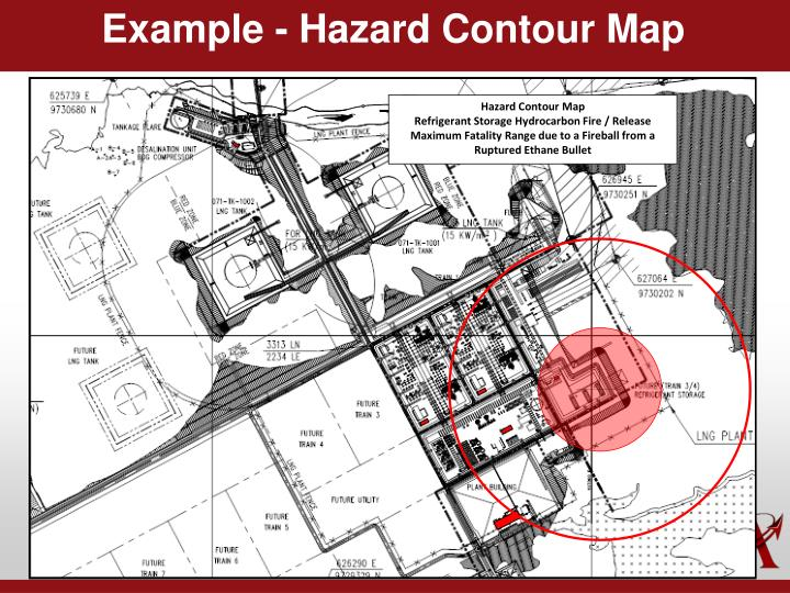 Example - Hazard Contour Map
