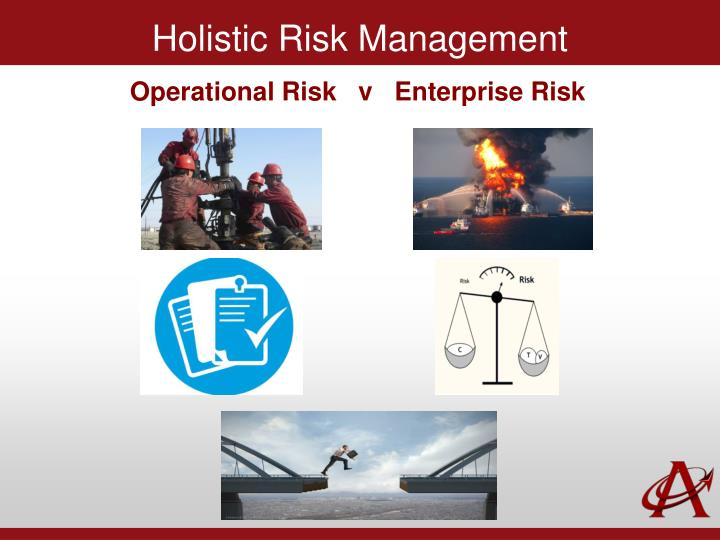 Holistic Risk Management
