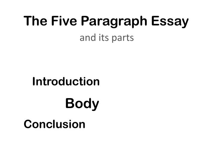 essay about love with introduction body and conclusion Friendships with an introduction, body, and conclusion' and find homework help for other essay lab questions if you have a pet such as a dog or cat, you could write an essay about how your pet is a friend, and then follow the pattern of extended examples in the body paragraph and a conclusion.
