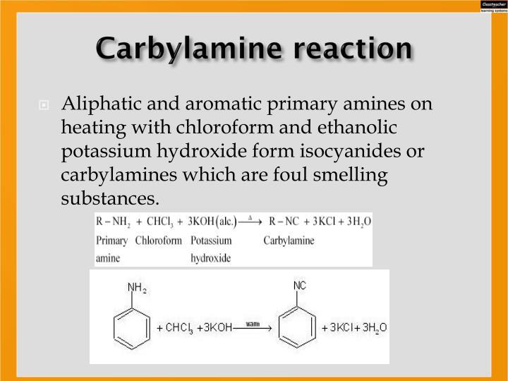 Carbylamine