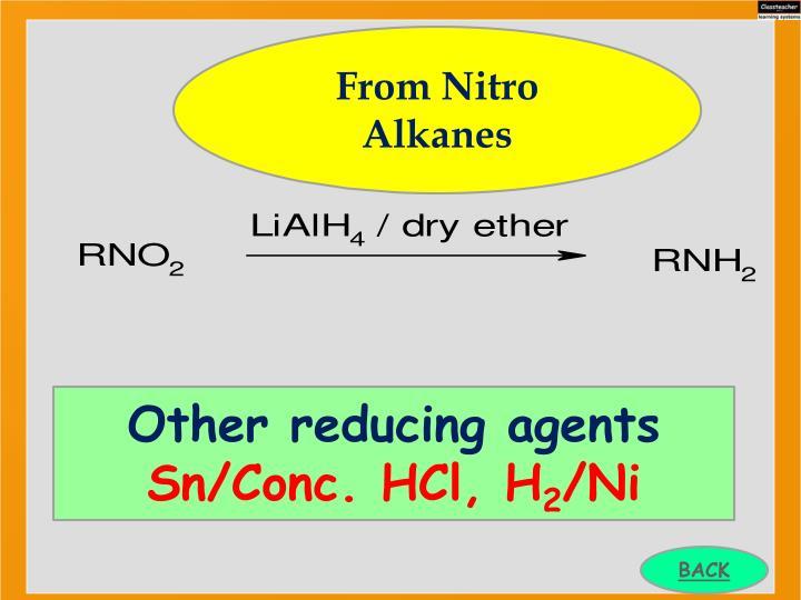 From Nitro Alkanes