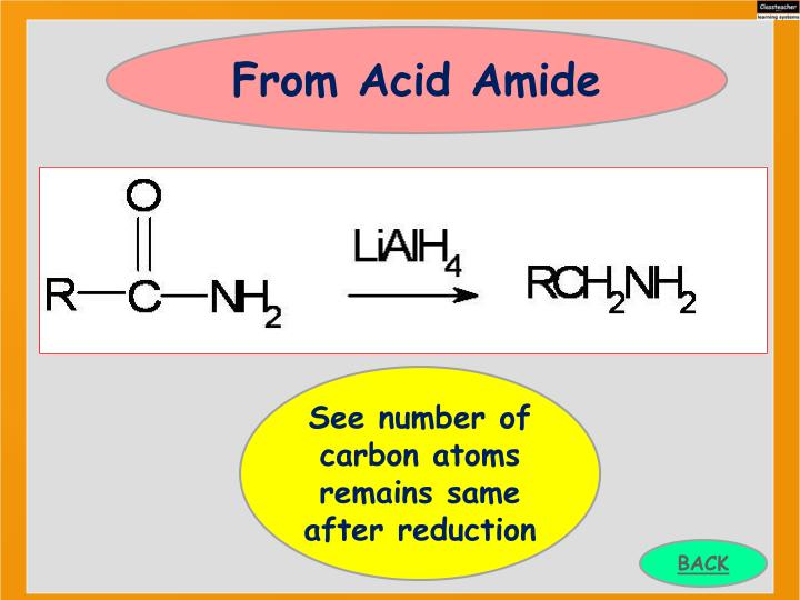 From Acid Amide