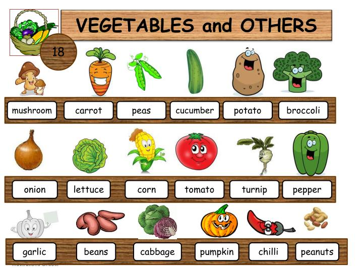 VEGETABLES and OTHERS