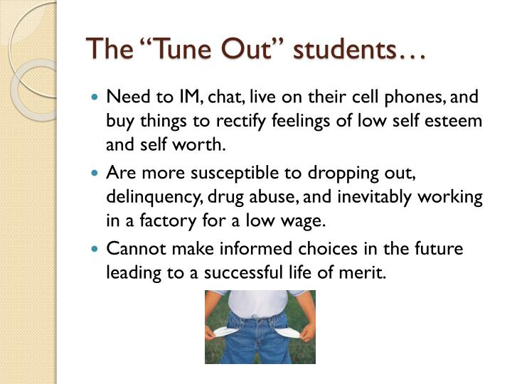 """The """"Tune Out"""" students…"""