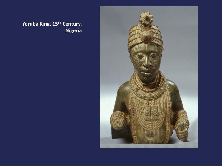 Yoruba King, 15