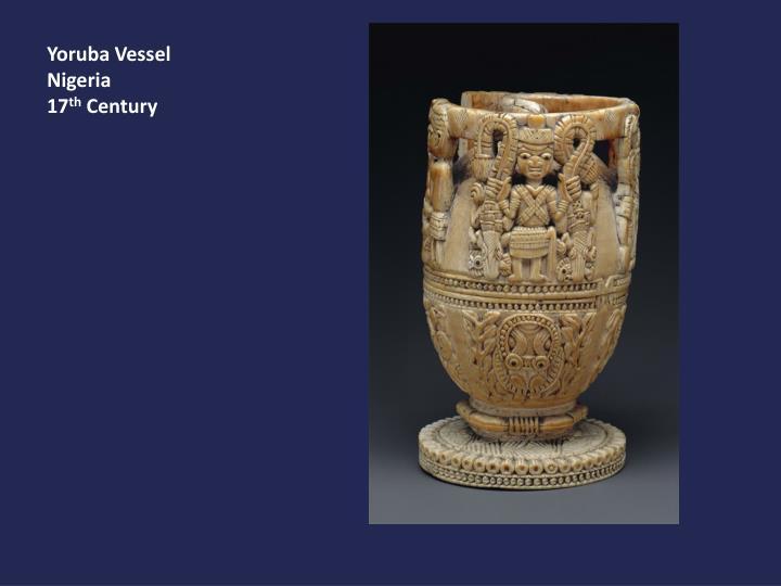Yoruba Vessel