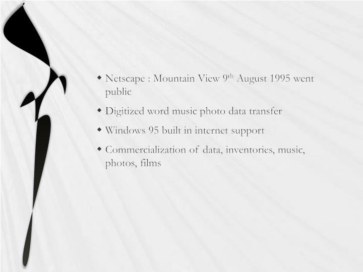 Netscape : Mountain View 9