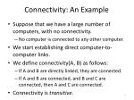 connectivity an example