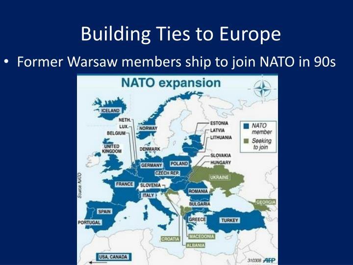 Building Ties to Europe