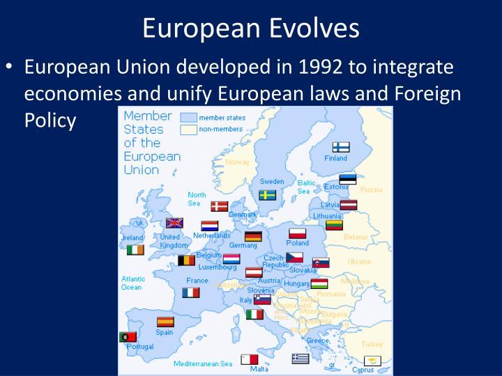 European Evolves