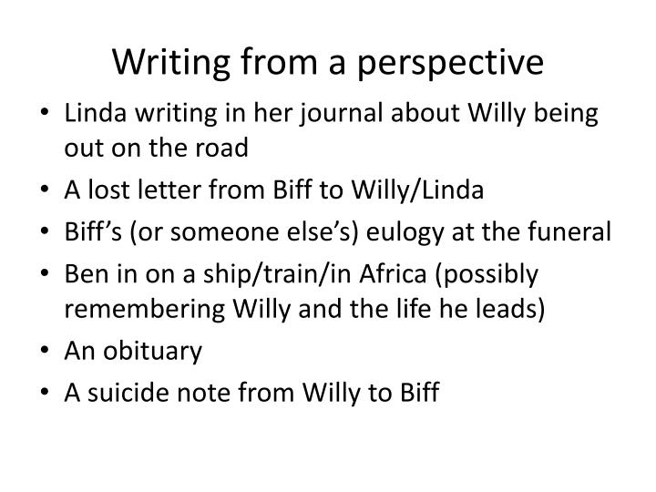 willy loman eulogy