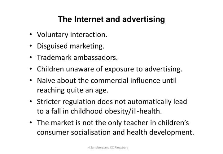 The Internet and advertising