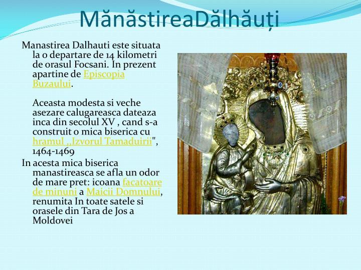 MănăstireaDălhăuți