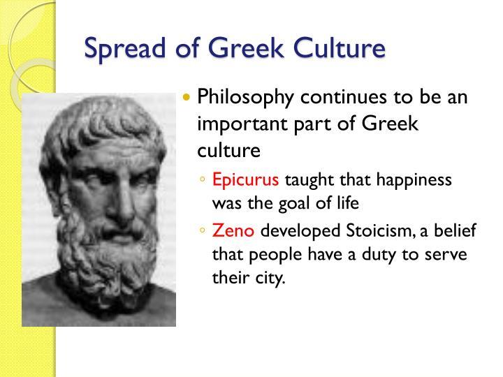 Spread of Greek Culture