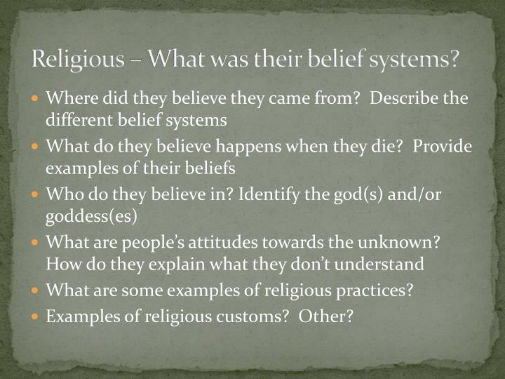 Religious – What