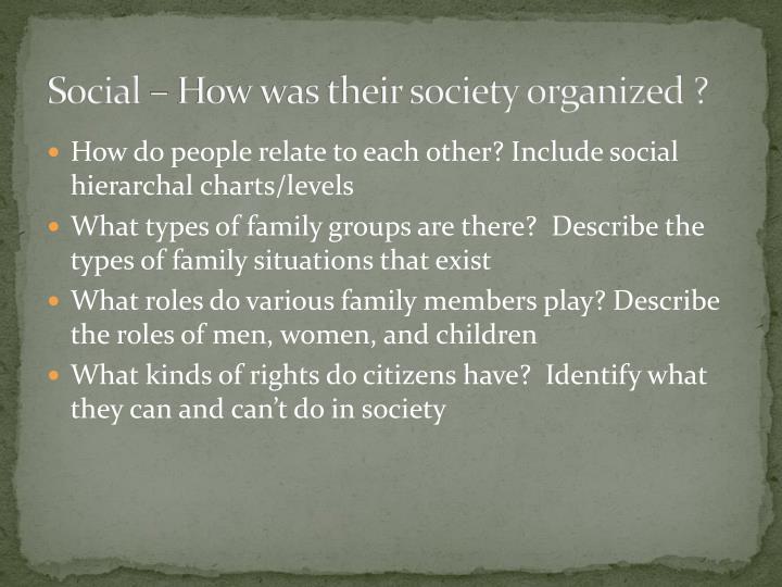 Social – How