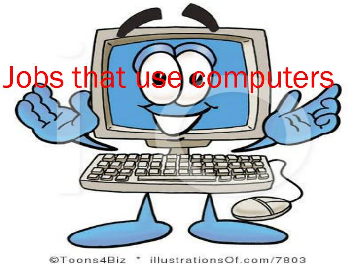 jobs that use computers n.