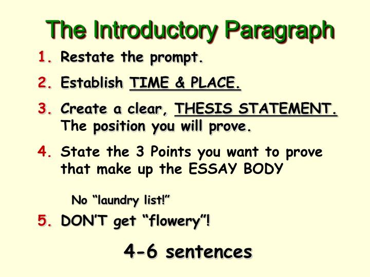 does a thesis statement have to have three points Your thesis statement states what you will discuss in your essay not only does it define the scope and focus of your essay, it also tells your reader what to expect from the essay a thesis statement can be very helpful in constructing the outline of your essay.