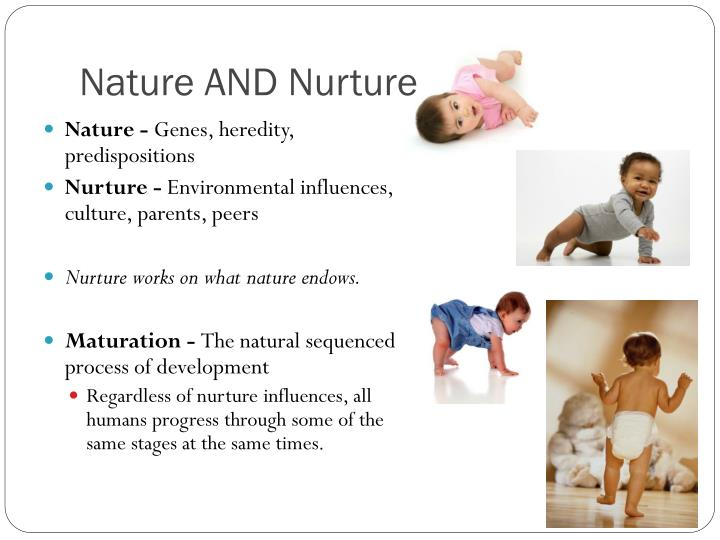heredity vs environment developmental influences The nature vs nurture debate still rages on, as scientist fight over how much of who we are is shaped by genes and how much by the environment the nature theory: heredity scientists have known for years that traits such as eye color and hair color are determined by specific genes encoded in each human cell.