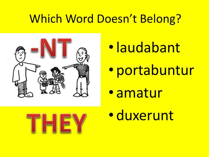 Which Word Doesn't Belong?