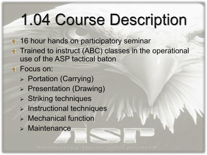 Ppt Asp Baton Instructor Certification Aic Program Powerpoint