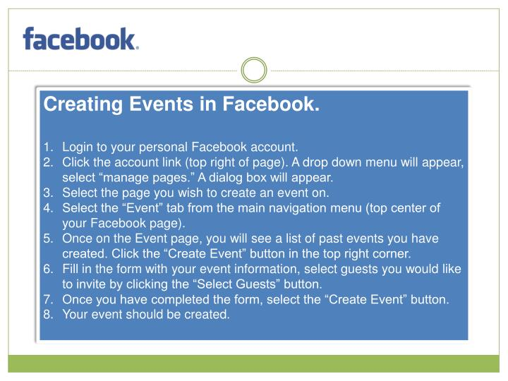 Creating Events in