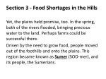 section 3 food shortages in the hills2