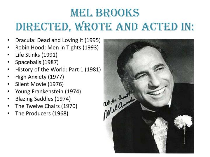 Ppt History Of The World Pt 1 Mel Brooks Powerpoint