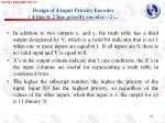design of 4 input priority encoder 4 line to 2 line priority encoder 2
