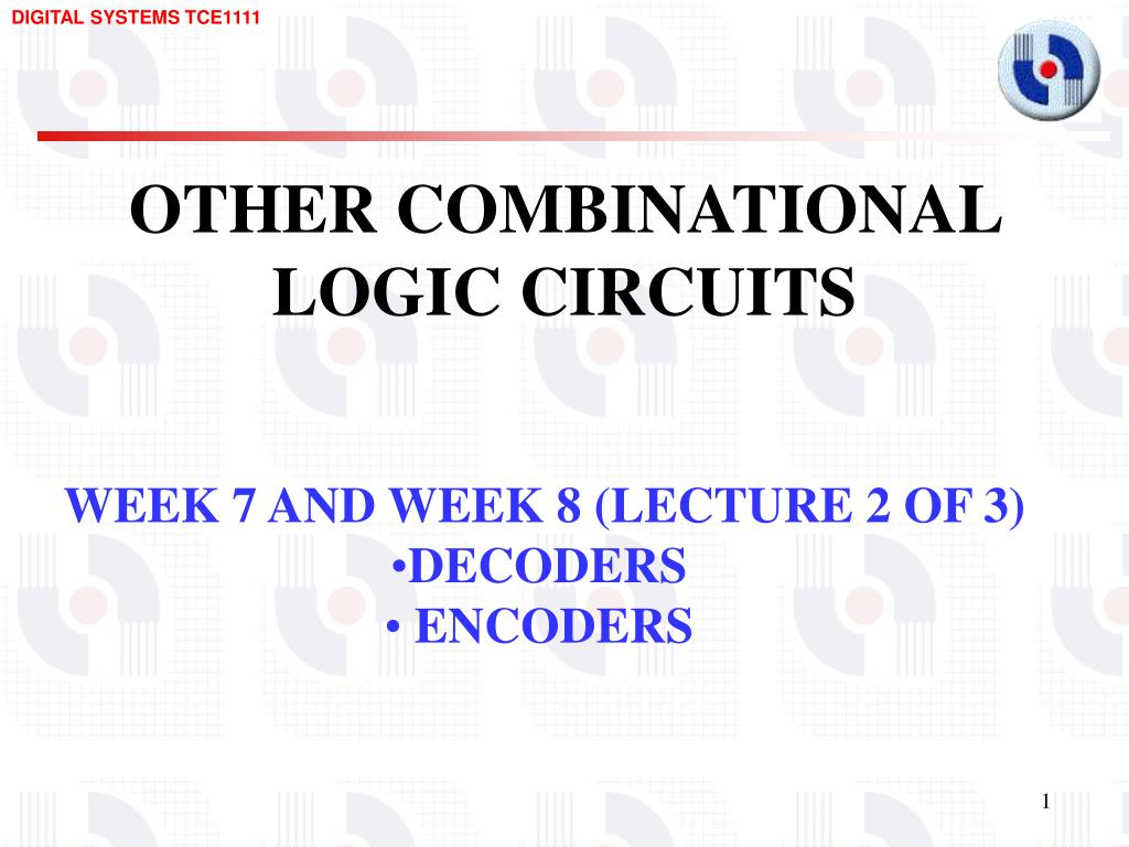 Ppt Other Combinational Logic Circuits Powerpoint Presentation Keypad Circuit That Will Convert From Decimal To Bcd Slide1 N