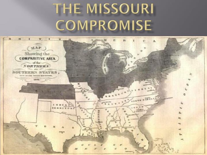 the missouri compromise n.