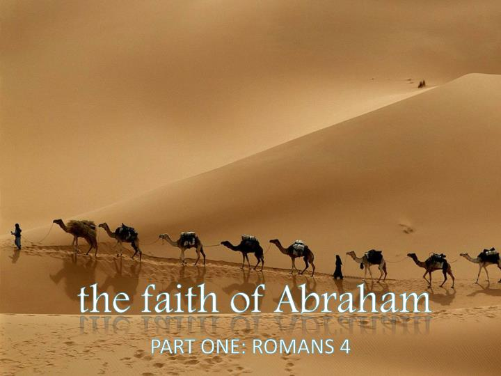 faith of abraham How can the answer be improved.