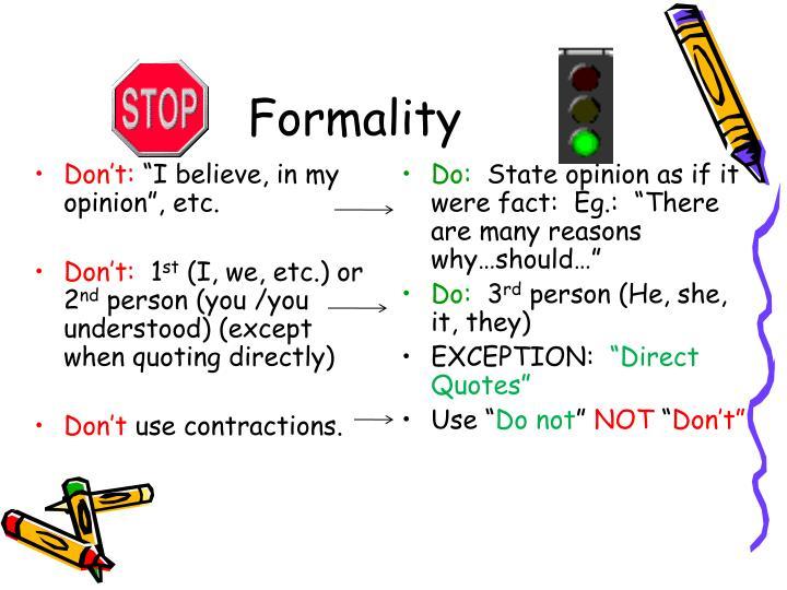 Formality1