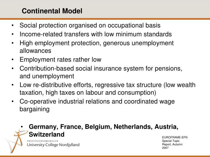 EUROFRAME-EFN Special Topic Report, Autumn 2007