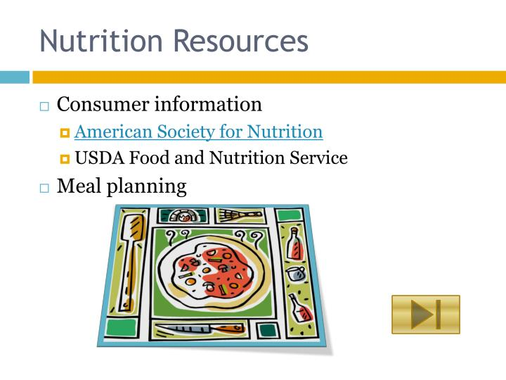 nutrition and consumers Family and consumer science — family and consumer sciences is an academic discipline that combines nutrition — the nutrition facts table indicates the amounts of nutrients which experts.