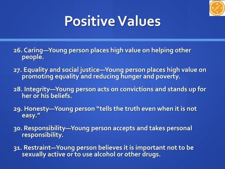 Positive Values
