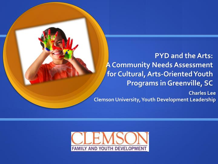 PYD and the Arts: