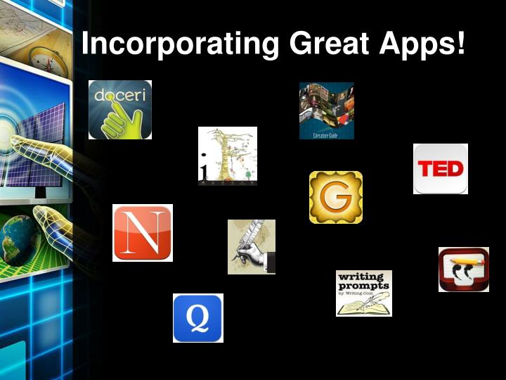 Incorporating Great Apps!