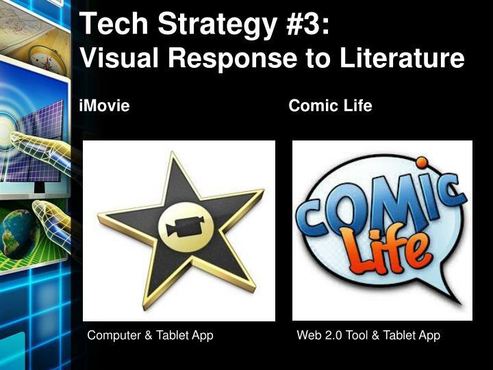 Tech Strategy #3: