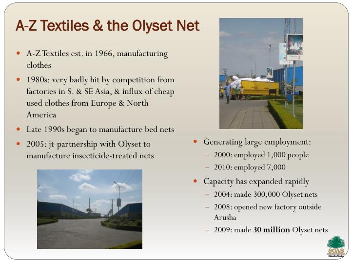 A-Z Textiles & the