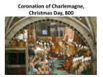coronation of charlemagne christmas day 800