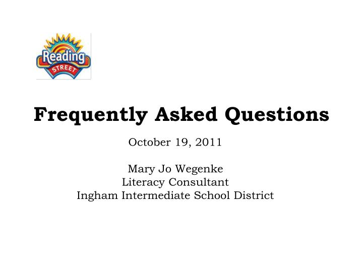 frequently asked questions n.