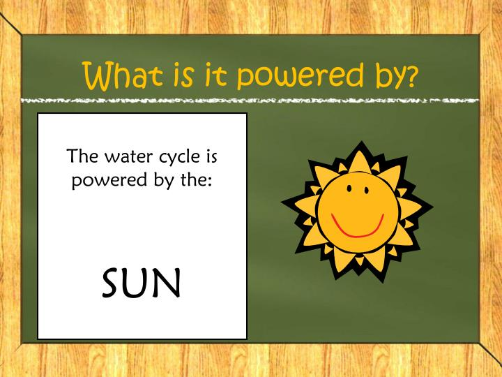 What is it powered by?