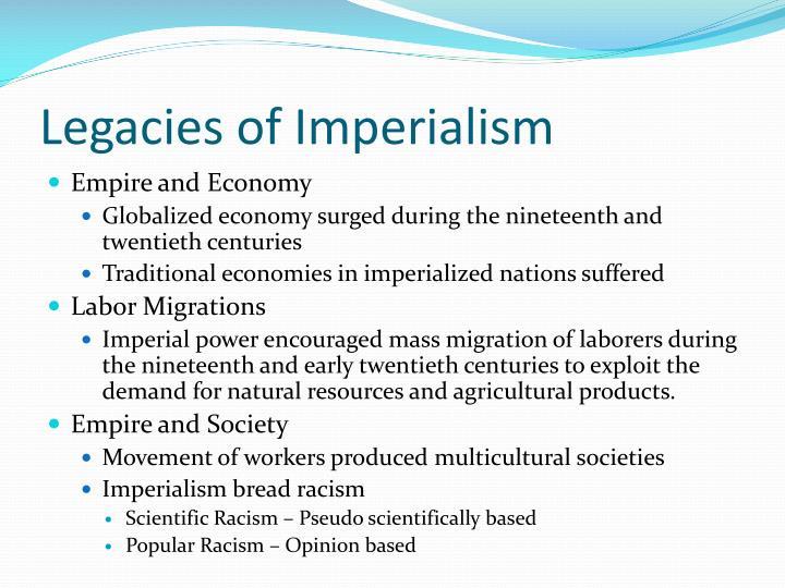 Legacies of Imperialism