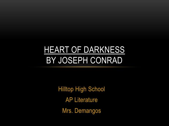 an analysis of a mans ways of survival in a deserted place in heart of darkness by joseph conrad Literary travel guide for heart of darkness by joseph conraddirections: prepare background information for quiz prepare written responses to section questions for discussion daysi biographical information: corrupt, nihilistic, malign--and perhaps the heart of man.