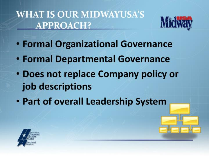 WHAT IS OUR MIDWAYUSA'S